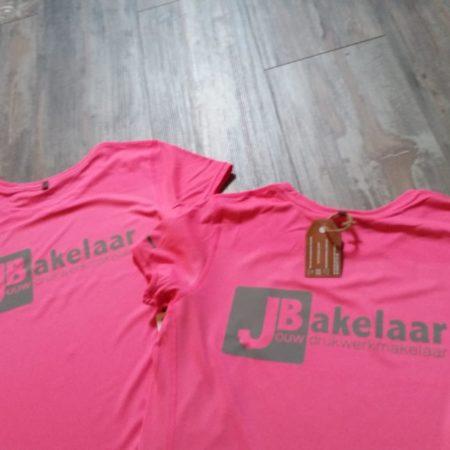 T-shirts sponsoren