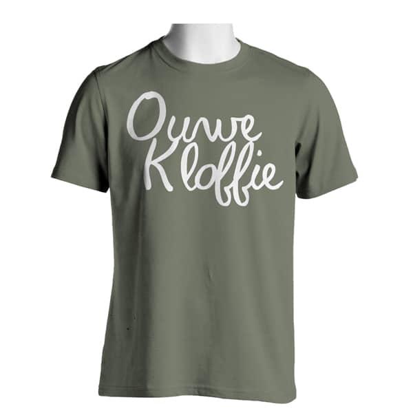 Voorkant Militair T-shirt Heren Ouwe Kloffie