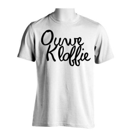 Voorkant T-shirt heren Ouwe Kloffie