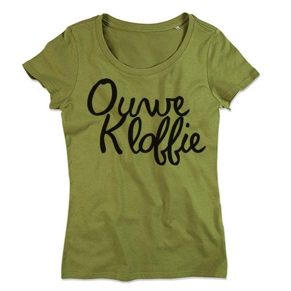 groen t shirt dames